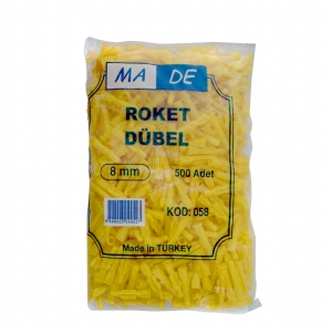 Ma De 058 Roket Dübel 8mm